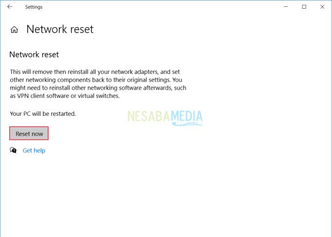 Solusi 1 - WiFi Terhubung Tapi Tidak Bisa Akses Internet 3