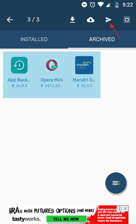 Cara Backup Aplikasi Menjadi File APK Lewat Gmail