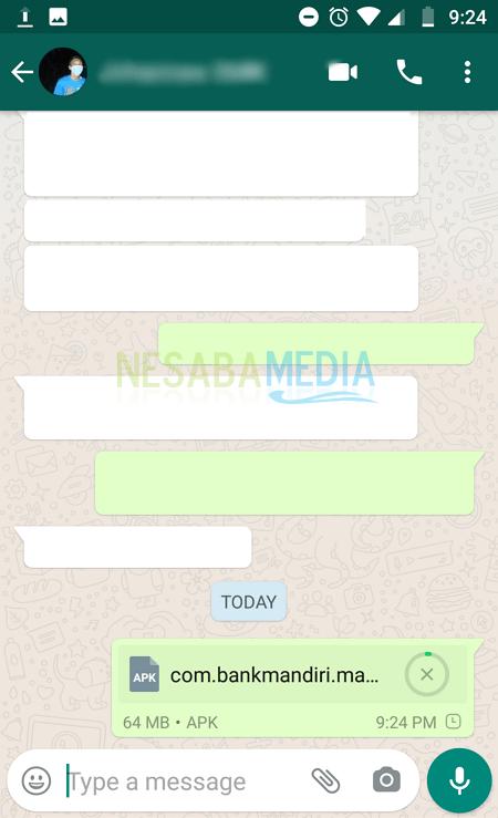 Cara Backup Aplikasi Menjadi File APK Lewat WhatsApp