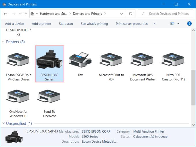 Cara Add Printer di Windows 9