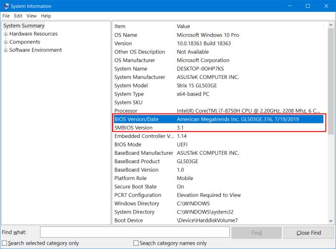 Cara Cek Versi BIOS di Laptop 3