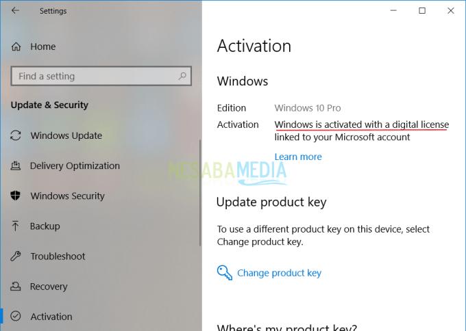 Cara Cek Windows 10 Original atau Bajakan