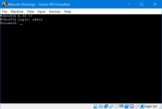 Install RouterOS Mikrotik di VirtualBox 15
