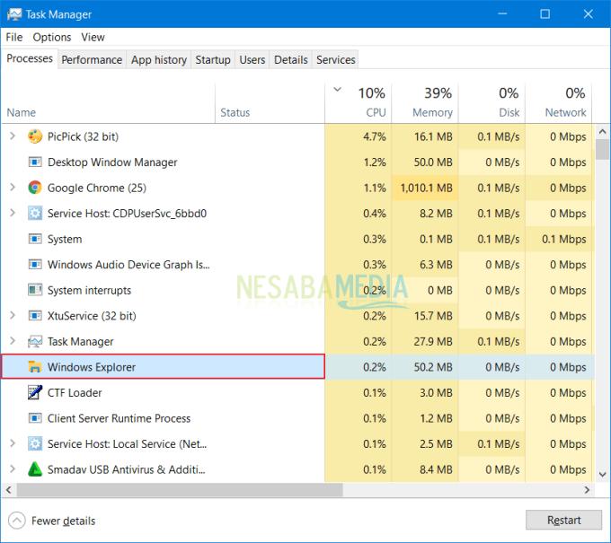 Mengatasi Windows Explorer Terbuka Sendiri 1