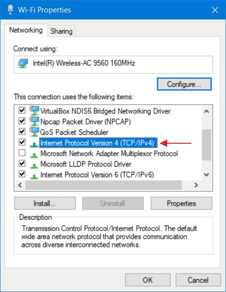 Mengatasi Windows Has Detected an IP Address Conflict 11