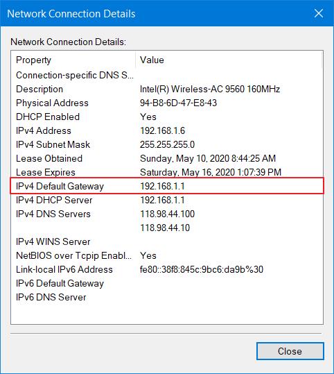 Mengatasi Windows Has Detected an IP Address Conflict 9