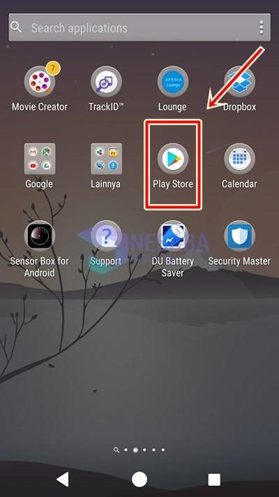 cara update browser bawaan