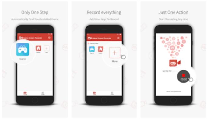 aplikasi untuk merekam layar Android kesepuluh adalah Game Screen Recorder