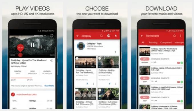 Aplikasi untuk Mendownload Video Android Videoder