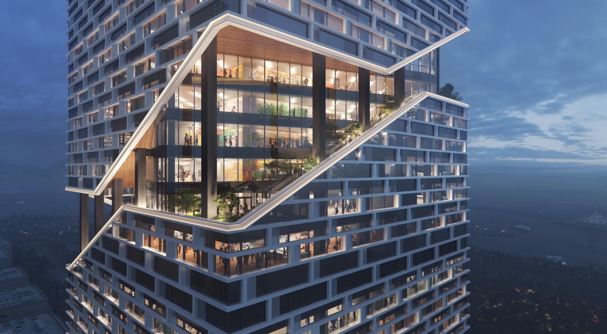 Vivo Bangun Kantor Baru Megah Di Pusat Shenzhen