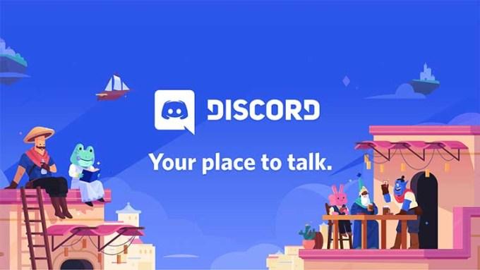 Discord Your Place To Talk Tagline Baru