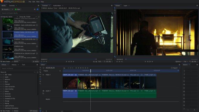 Download HitFilm Express Terbaru