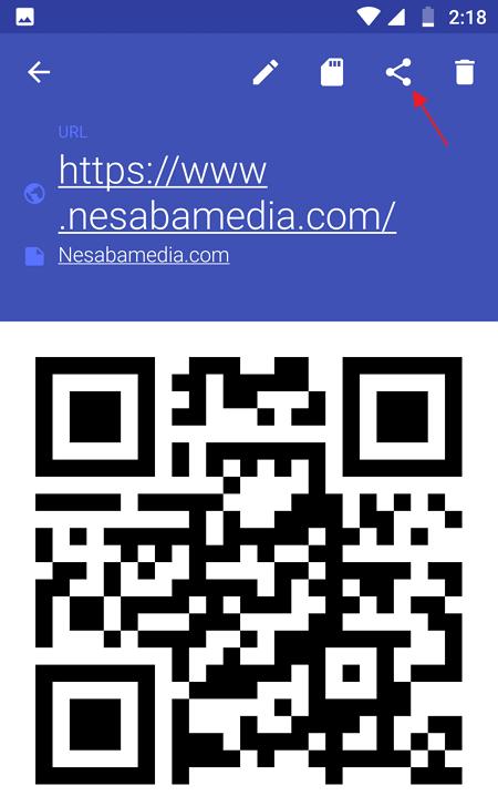 Membuat barcode di HP - Nesabamedia 7