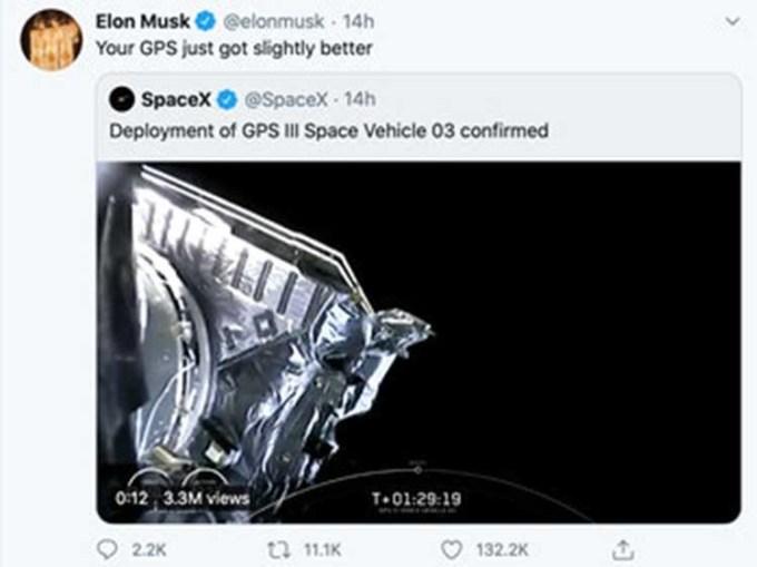 Unggahan Twit Elon Musk