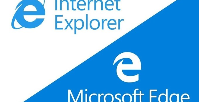 Internet Explorer and Microsoft Edge Browser