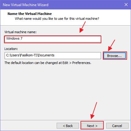 Cara Install Windows 7 di VMware Workstation