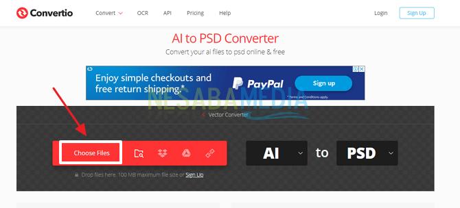 Cara Convert AI Ke PSD Secara Online