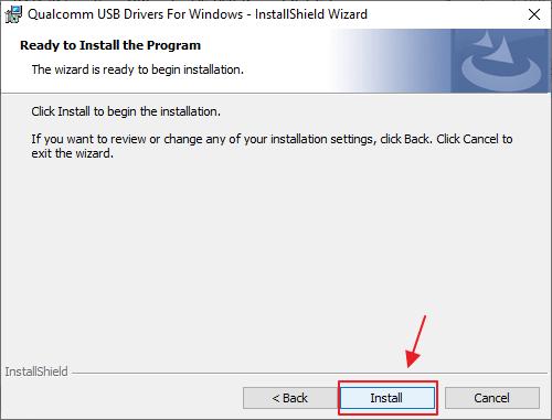Cara Install Qualcomm USB Driver Windows 10
