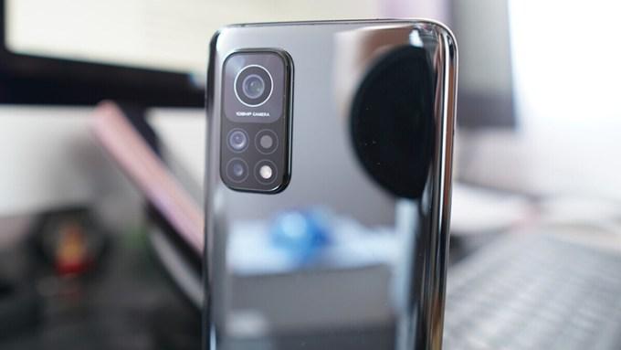 Bagian Belakang Kamera Xiaomi Mi 10T Pro