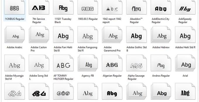 Cara Mengganti Font di Windows 10