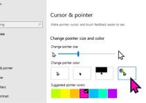 Kursor Mouse Pointer Windows 10