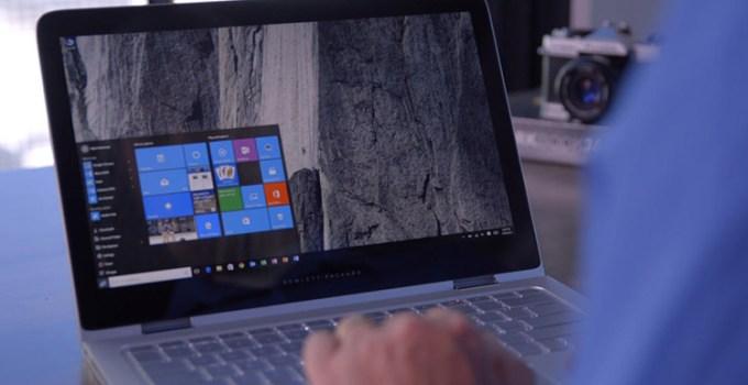 Windows 10 di Laptop