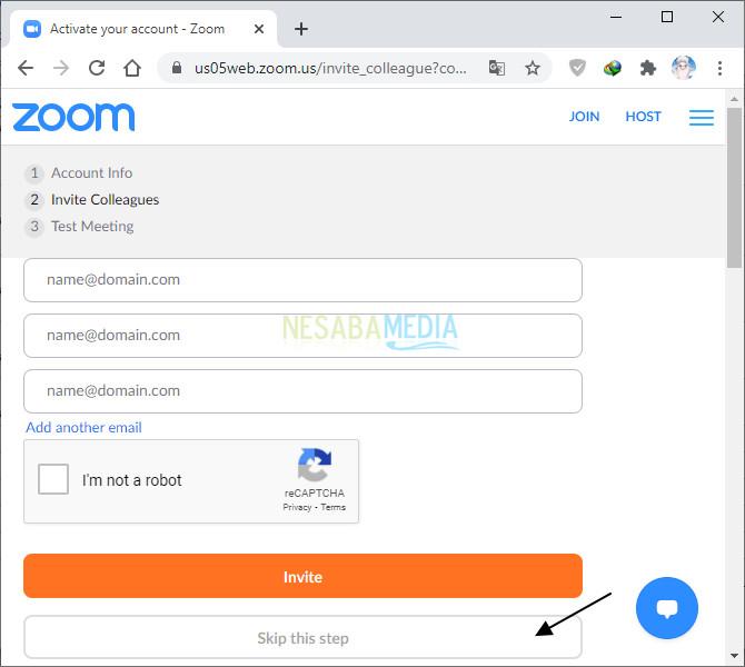 cara install zoom di laptop dan registrasi akun