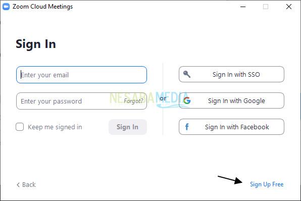 cara menginstall zoom meeting di laptop