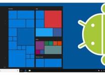 Aplikasi Android di Microsoft Windows 10