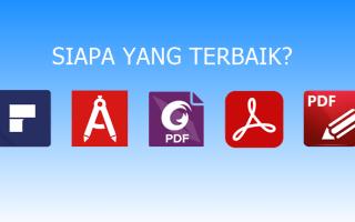 Aplikasi PDF Editor Terbaik