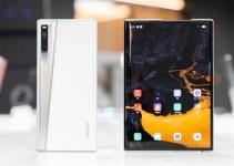 Smartphone Gulung Oppo X 2021