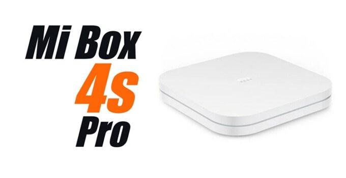 Xiaomi Mi Box 4s Pro STB Android TV
