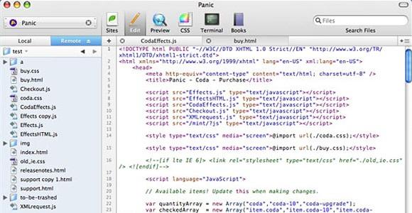 Aplikasi Desain Web untuk Windows
