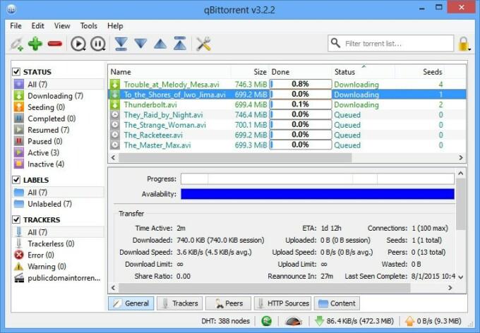 Aplikasi Download Torrent untuk Windows