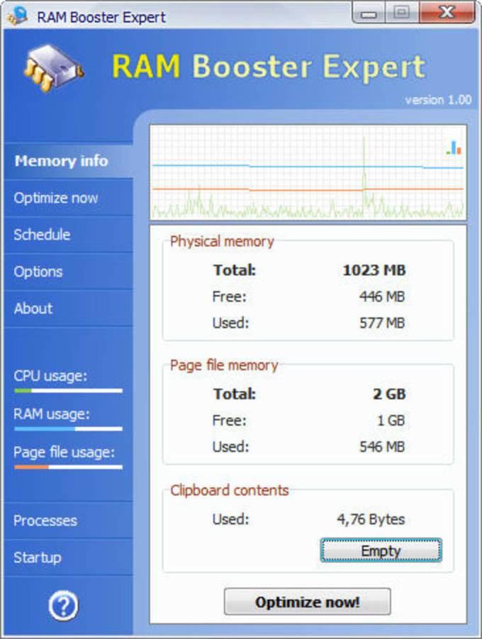 Aplikasi Pembersih RAM untuk Windows 10