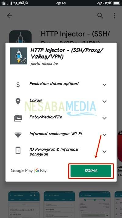 Cara Menggunakan HTTP Injector All Operator