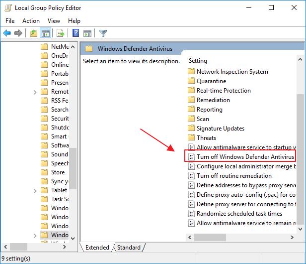 Cara Mematikan Windows Defender di Windows 10 Secara Permanen