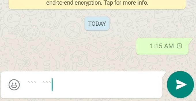 Cara Mengirim Chat WhatsApp Kosong