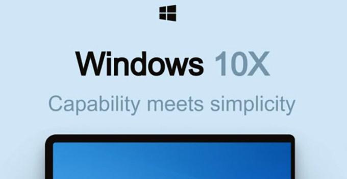 Fitur Windows 10X di Windows 10