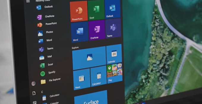 Microsoft Windows 10 Fitur Start Menu