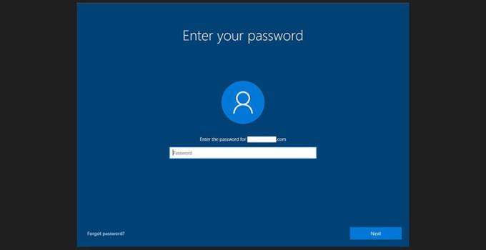 Microsoft Windows 10 Password Kata Sandi Bug