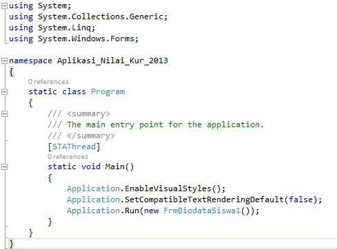Apa itu Bahasa Pemrograman VB.NET