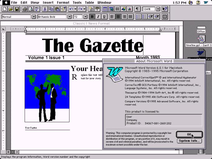 Versi Microsoft Office