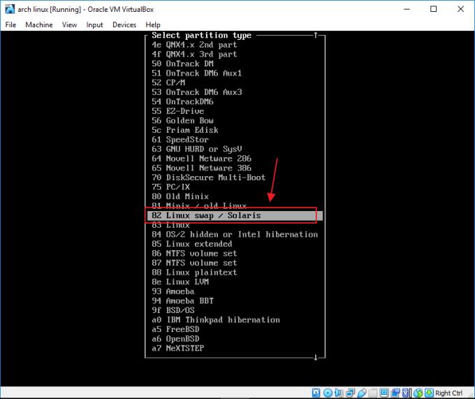 Cara Install Arch Linux di Virtualbox untuk Pemula