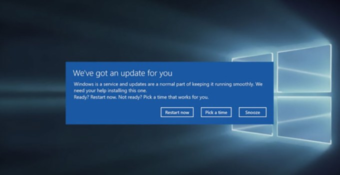 Bug Windows 10 Reboot Secara Acak