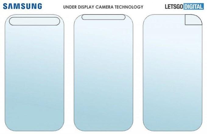 Paten Samsung Kamera Bawah Layar