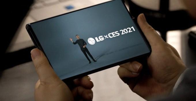 Smartphone Gulung LG di CES 2021