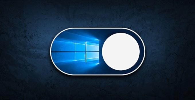Tema Gelap Windows 10