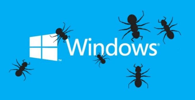 Windows 10 NTFS Bug
