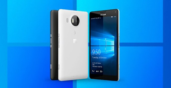 Windows 10X di Smartphone Lumia 950XL